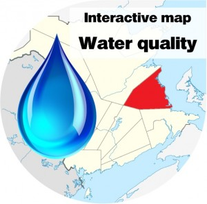 Water quality map