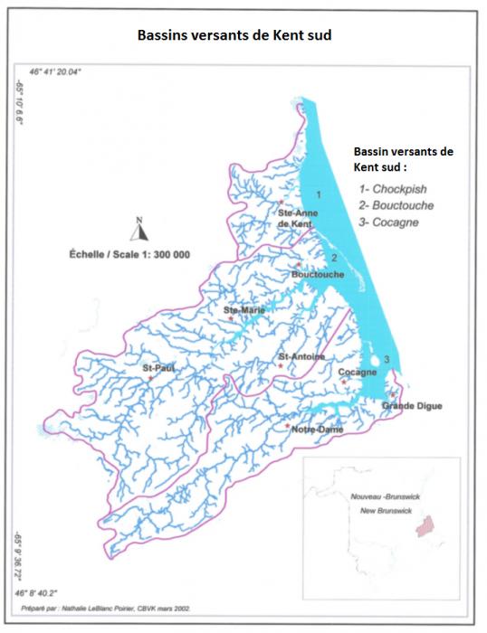 Bassins versant_Bouctouche Chockpish et Cocagne2