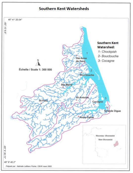 Watersheds_Bouctouche Chockpish et Cocagne2